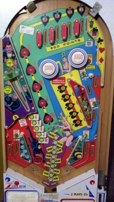 Image result for euroflip lady luck pinball machine