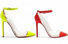 Louloudance Suede Platform Red Sole Sandal Multi by Christian Louboutin at Neiman Marcus.