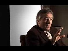 Robert DeNiro and talk about Once Upon A Time In America Best Actor, Once Upon A Time, Actors & Actresses, Lunch, America, Stars, Film, My Love, Youtube
