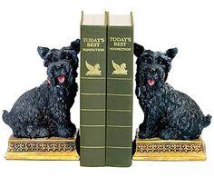 Набор из 2 подставок для книг - полистоун, 11х8 см