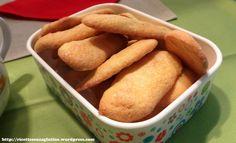 Biscotti savoiardi senza glutine
