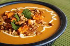 15 Vegetable Soup Recipes - sweet potato chowder