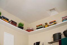 Creative Bedroom Storage Hacks - Next Future Home Bedroom Storage Shelves, Bedroom Organization, Bedroom Storage Hacks, Bedroom Storage Solutions, Organization Hacks, Bedroom Storage Ideas For Small Spaces, Small Bedroom Hacks, Bedroom Cleaning, Shelving Solutions