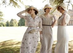 the girls of Downton Abby