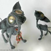 095 Cat Sphynx Findus Amigurumi Pertseva - via @Craftsy