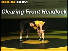 Wrestling Moves KOLAT COM Clearing A Front Headlock: Wrestling Moves Kolat Com Clearing A Front Headlock. Front Headlock Torture Series Attack Style Wrestling By. Wrestling Workout, Ufc Workout, Wrestling Team, Wrestling Videos, Baseball Fight, Mma Fighting, Self Defense Techniques, Sports Mom, Wakeboarding