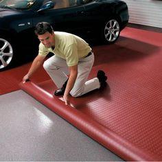 Heavy-Duty Garage Flooring