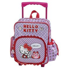 b09622a20a Τσάντα Trolley Νηπιαγωγείου Hello Kitty Hello Kitty
