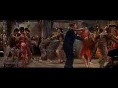 """Guys and Dolls"" (1955). Cuban nightclub scene with Marlon Brando and Jean Simmons. Samba: ""A Woman in Love""."