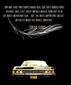 """The Impala """"baby"""" -5x22  """"Swan Song"""" #Supernatural"""