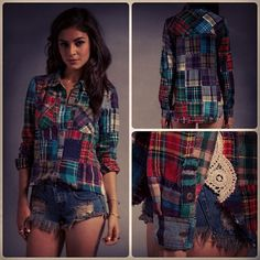 Flannel! <3 I would wear it everyday!