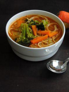 Thukpa/Vegetarian Noodle Soup