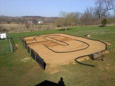Backyard R C Track Yard And Garden Pinterest Backyard Radio