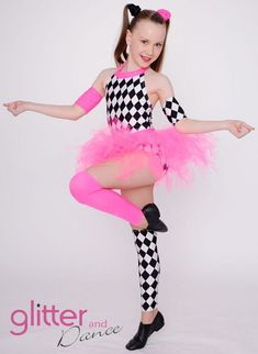 Jazz/Tap Dance Costume.  www.glitteresigns.com.au