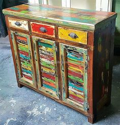 wooden pallets entryway cabinet