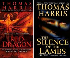 Red Dragon or The Silence of the Lambs by Thomas Harris | 13 Books To Read This Halloween #halloween #scaryreads