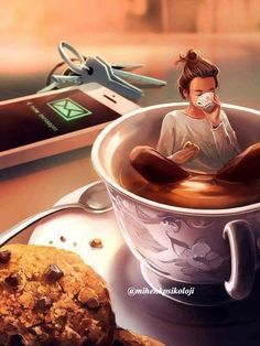 ᐅ Die 99 Besten Bilder von Illustration in 2019 Cyril Rolando Illustrations, Illustration Art, Cyril Rolando, Coffee Art, Coffee Drawing, Cartoon Art, Cute Drawings, Cute Art, Art Girl