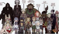 Image result for nanachi made in abyss