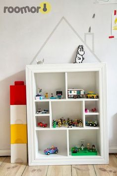 mommo design: HOUSES FOR KIDS - Washi tape house