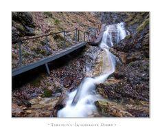 Terchová, Slovakia Train Tracks, Walkway, Stairways, Bridges, Past, Beautiful Places, Waterfall, Destinations, Sweet Home