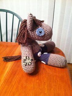 Ravelry: Smarty Pants MLP Crochet Plush Pattern (Twilight Sparkle's Doll) My little pony Friendship is magic pattern by Kim Novak
