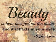 Beauty Quotes - Sophia Loren