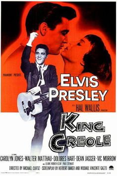 """FRIDAY, July 26! """"Hard-Headed Woman,"""" Elvis' song from the film """"King Creole"""" (1958), jumped to #2 in the U.S. The song eventually hit #1 on the U.S. Billboard Hot 100 and #2 on the Billboard Hot Country Singles and the Billboard Hot R Singles."""