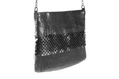 Glitzy grey bag to add some sparkle to your evening