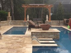 Roman Blend Walnut Travertine Pavers-Home and Garden Design Ideas