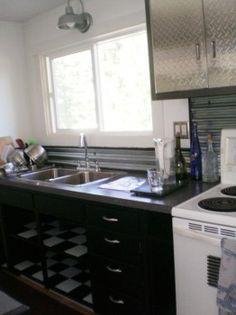 DIY sheet metal kitchen project