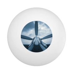 Clear Prop! Ping Pong Ball - tap, personalize, buy right now! #PingPongBall  #aeroplane #aerospace #air #aircraft #airplane