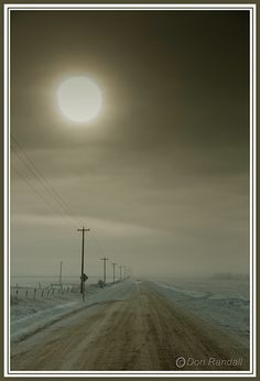 Long cold road home
