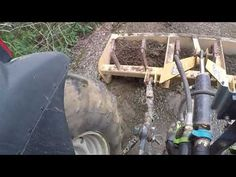 Tips for using a box blade to repair a driveway. Tractor Accessories, Heavy Equipment, Blade, Homesteads, Make It Yourself, Farms, Box, Tips, Youtube