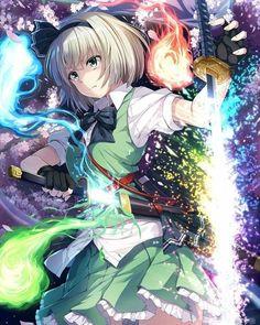 images for anime girls Manga Anime, Fanarts Anime, Manga Girl, Anime Characters, Kawaii Anime Girl, Anime Art Girl, Anime Girls, Katana Girl, Anime Group