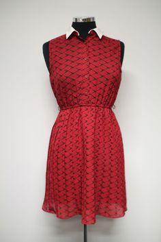 Vintage dress with bird pattern #bleeckerstreetvintage #vintage