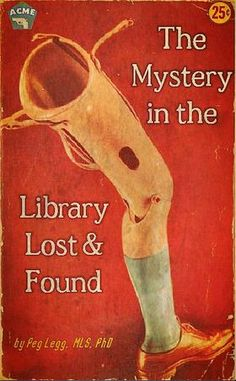 Professional Library Literature : The Mystery in the Library Lost and Found simplebooklet.com