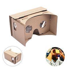 neje diy google karton virtual reality 3D bril vr tookit voor iphone android 4-7 inch mobiele telefoon – EUR € 10.69