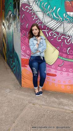 Vivy Duarte: Look do Dia: Jeans