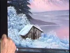 """Bob Ross and """"The Joy of Painting:"""" Winter Glory (from DVD ..."""