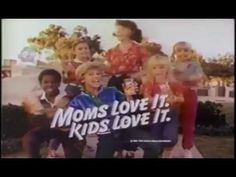 VINTAGE 80'S 1983 HI-C COMMERCIAL W KIDS SINGING FIFTIES STYLE