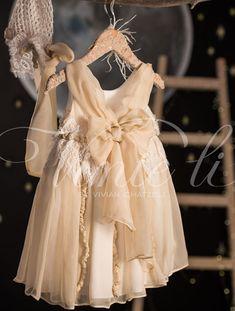 Βαπτιστικό φόρεμα Vinteli μουσελίνα 2612