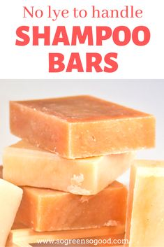 DIY Shampoo Bar - No Lye to handle This beauty recipe is perfect for those of you who never made a s Diy Shampoo, Solid Shampoo, Homemade Shampoo, Moisturizing Shampoo, Shampoo Bar, Organic Shampoo, Homemade Hair, Natural Shampoo, Homemade Scrub