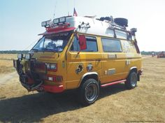 T3/T25 syncro four-wheel-drive bus from the Czech Republic.