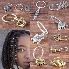 Accessories for braids Bridal Cowrie Shells with Rhinestones Hair Jewelry for Braids, Locs, Twists & Cornrows Hair Jewelry For Braids, Loc Jewelry, Charm Jewelry, Dreadlock Jewelry, Dreads, Box Braid Accessories, Twist Cornrows, Braids Cornrows, Twists