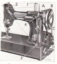 Vintage Singer Featherweight Sewing Machine Blog!
