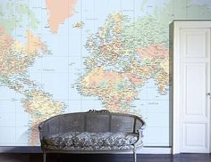 Personalised Map Wall Paper, you choose your personal map