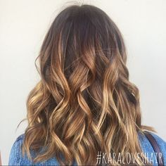 Copper toned color melt for this babe  #modernsalon