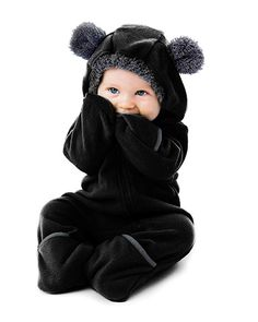 0-24 Months Muium Infant Baby Faux Fur Coat Unisex Baby Winter Warm Romper Jumpsuit Boy Girl Thick Jacket Hooded Hoodie Outfits Clothes