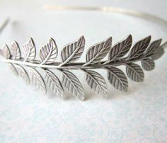 Leaf Plated Headband - Statement - Trend Uncovet