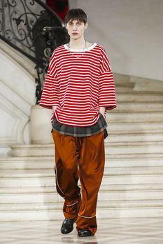 Etudes Studio Fall Winter 2017 Menswear Collection in Paris